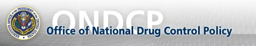 Image from Office of National Drug Control Policy Homepage