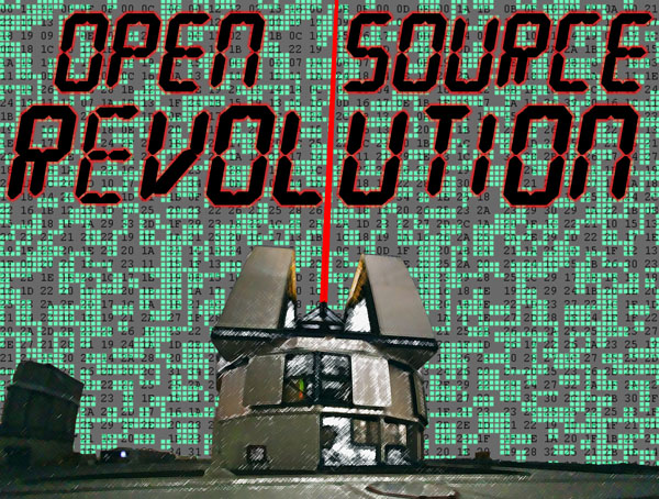 Open Source Revolution: Broadcasting an Alternative Signal to the Universe