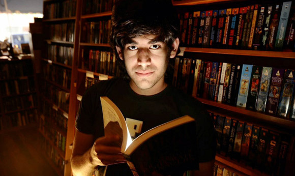 Aaron Swartz, Image from the New Yorker